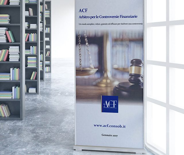 Consob Acf Arbitro per le controversie finanziarie